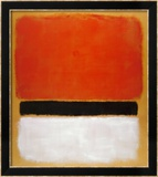 Untitled (Red  Black  White on Yellow)  1955