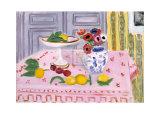 The Pink Tablecloth, c.1925 Reproduction d'art par Henri Matisse