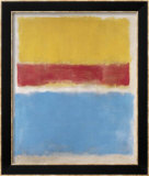 Untitled (Yellow  Red and Blue)  c1953