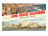 Greetings from Long Beach  California