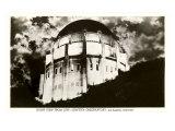 Night  Griffith Park Planetarium  Los Angeles  California