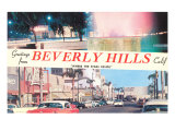 Greetings from Beverly Hills  Los Angeles  California