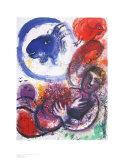 The Blue Goat Reproduction d'art par Marc Chagall