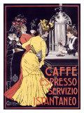 Caffe Espresso Giclée par Ceccanti