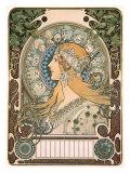 Zodiaque Giclée par Alphonse Mucha