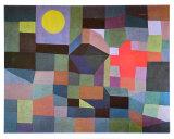 Fire at Full Moon, 1933 Reproduction d'art par Paul Klee