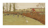 The Cottesbrook Hunt (Nearing the End)