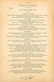 Carte Du Jour - Juillet Giclée premium par August Escoffier