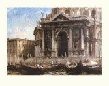 Gondolas By The Salute - Venice