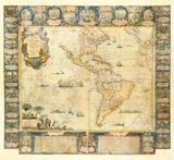 L'Amerique Dedice et Presente a sa Majeste tres Chrestienne Louis XVI  1740