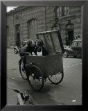 Baiser Blotto, c.1950 Reproduction encadrée par Robert Doisneau