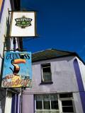 Pub Signs  Eyeries Village  Beara Peninsula  County Cork  Ireland