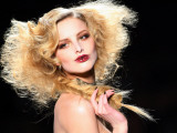 Model Presents a Creation by British Fashion Designer John Galliano for Dior