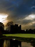Kilkea Castle Hotel  Built 1180 by Hugh De Lacey  Kilkea  Co Kildare  Ireland