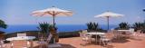 Patio Umbrellas in a Cafe  Positano  Amalfi Coast  Salerno  Campania  Italy