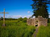 Romanesque Doorway  Kilbunny Church  Portlaw  County Waterford  Ireland