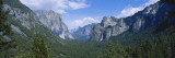 View of Bridal Veil Falls at Yosemite Valley  Yosemite National Park  California  USA