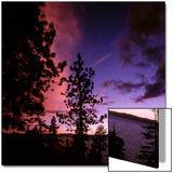 Sunset over Lake Tahoe  Nevada  USA