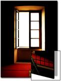 Open Window in Darkened Room