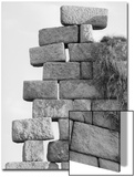 Stacked Stone Forming a Wall