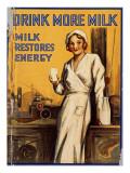 Drink More Milk Poster