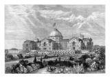 Design for Alexandra Palace  London  1864