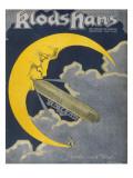 Count Zeppelin's Next Destination - the Moon!