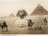 The Pyramids and the Sphinx at Giza  Cairo  Egypt