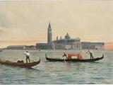 Venice: General View across the Water to the Church of San Giorgio Maggiore