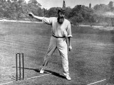 WG Grace Bowling at the Crystal Palace Cricket Ground