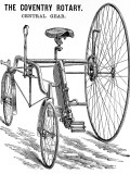 Advertisement for a Rudge Coventry Rotary Tandem Tricycle