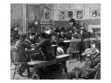 Youth Club in Islington  London  1887