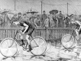 Bicycle Race at the Catford Cycling Club  1892