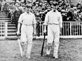 RA Duff and V Trumper of the Australia Team  1902