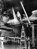 Propellor of RMS Queen Mary  September 1934
