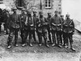 German Crack Soldiers on the Western Front During World War I Papier Photo par Robert Hunt