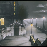A Night View of Victoria Embankment