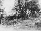 German Infantry in Gas Masks WWI