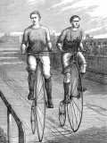 Bicycle Race at Lillie Bridge  1875