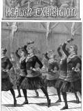 Girls Doing Gymnastics  1884