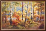 Autumn Walk I Reproduction encadrée par Stephen Douglas
