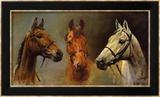 Nous, les trois rois Reproduction encadrée par Susan Crawford