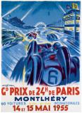 Grand Prix de Montlhery Giclée par Geo Ham