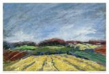 Pastel Field I