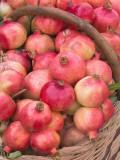 China  Silk Road  Xinjiang Province  Kashgar  Pomegranates in Basket at Local Market