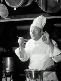 Chef Tasting Food  Ok Sign  1942