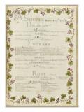 """"""" Voyages du roi au château de Choisy """" en 1752 : souper du mardi 14 novembre 1752"""