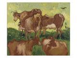 Les vaches  d'après Jacob Jordaens et Van Ryssel