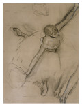 Danseuse au bouquet et étude de bras