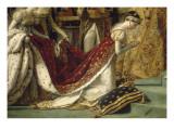 Sacre de l'empereur Napoléon et couronnement de l'impératrice Joséphine